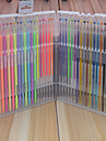 36 plume de couleur neutre (boite de 36 tete ronde)