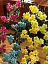 Set of 1 PCS 1 ramură Poliester Trandafiri Față de masă flori Flori artificiale Long 35.4(inch)