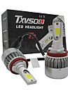 2x universalite h11 conduit phare torchis voiture 110w conduit phares conversion ampoule kit lumiere 6500k phare automatique