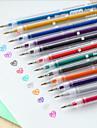 12 färg blixt färg penna