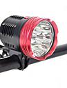 Belysning Pannlampor / Strålkastare Straps / säkerhetslampor LED 18000 Lumen 1 Läge Cree XM-L L2 18650 Vinklad Ficklampa / Superlätt