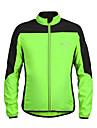 Sport Cykeljacka Herr Lång ärm Cykel Andningsfunktion / Ultraviolet Resistant / Bärbar / Lättviktsmaterial Vindjackor Terylene Lappverk