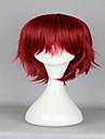 anime q frere detective inaba Inaba hiroshi classiques rouges 32 cm courte ligne droite sexy cosplay perruque