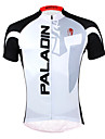 PALADIN® Cycling Jersey Men\'s Short Sleeve Bike Breathable / Quick Dry / Ultraviolet Resistant Jersey / Tops Polyester / 100% Polyester