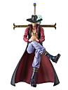 One Piece Dracula Mihawk PVC 20cm Figures Anime Action Jouets modele Doll Toy
