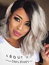 onde de mode beaute noir au gris couleur gradient perruques synthetiques nouvelle coiffure