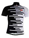 Sportif Maillot de Cyclisme Homme Manches courtes Velo Respirable / Sechage rapide / Zip frontal / Tissu Ultra Leger / Doux / Confortable