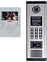 4  Inch Color Video Intercom Doorbell Telephone Access Control Set