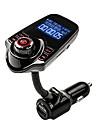 agetunr musique mp3 adaptateur avec telecommande pour iPhone / samsung smartphone lg emetteur fm bluetooth mains libres kit voiture radio