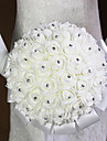 The Bride Wedding Bouquet White Flowers bBouquets Of Roses Bubble Simulation