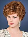 top chaleur de qualite resistant courtes perruques de couleur brun boucles pour les femmes noires