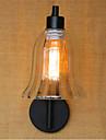 ac 110-130 / ac 220-240 40w e26 / e27 rustique / lodge / pays oxyde noir caracteristique de finition pour led / bras oscillant / ampoule