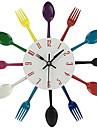 Moderne/Contemporain / Decontracte / Bureau / Affaires / Autres Nourriture et Boisson / Autres / Famille / Ecole/Diplome Horloge murale,
