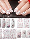 4st nagel konst Sticker 3D Nagelstickers skönhet Kosmetisk nagel konst Design
