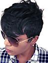 mode couches courtes perruques capless ondulees de haute qualite de cheveux humains