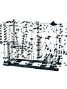 plastique et metal au-dessus de 6 blocs de construction pour jouet de nouveaute