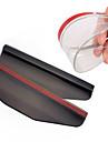 ziqiao bil backspegeln regn vatten ögonbryn täcker sidoskydd (2 st)
