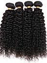 Tissages de cheveux humains Cheveux Bresiliens Tres Frise 12 mois 3 Pieces tissages de cheveux