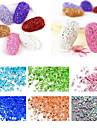 1000pcs Manucure De oration strass Perles Maquillage cosmetique Manucure Design