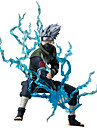 Figures Anime Action Inspire par Naruto Hatake Kakashi Anime Accessoires de Cosplay figure Bleu PVC