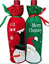 1pcs sac de bouteille de vin de bouteille de vin de Noel