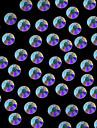 1440pcs 4.6-4.8mm ab scintillement de couleur cristal strass dos plat nail art decoration