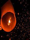 Kongmin en forme de coeur lampe lumiere ciel lanterne