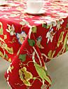 Carre Avec motifs / Fleur Nappes de table , Coton melange Materiel Hotel Dining Table / Tableau Dceoration