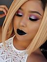 courte ombre couleur bob perruque synthetique ombre Blode perruques noires chaleur perruques de cheveux courts pour les femmes resistantes