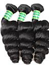 Remy de Bresilien de cheveux Tissage Naturel Remy Ondulation Lache Remy Human Hair Tissages