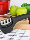 kan femtonde kök& utomhus knivslip tre skede professionell kniv slipa stål i alla storlekar (svart)