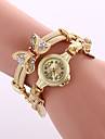 Women\'s Dress Watch Fashion Watch Wrist watch Bracelet Watch Quartz Colorful Alloy BandVintage Sparkle Butterfly Bohemian Charm Bangle