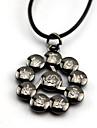 Mer accessoarer Inspirerad av Naruto Akatsuki Animé/ Videospel Cosplay Accessoarer Halsband / Mer accessoarer Svart Legering