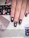 1 Nail Art Sticker 3D Nagelstickers makeup Kosmetisk Nail Art Design