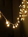 solenergi sträng ljus vattentät ledde band 10m 100led koppartråd lampa varmvit för utomhus jul dekoration lampor