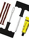 ziqiao 1 set outil kit fiche tubeless kit pneu de voiture auto reparation voiture moto auto pneu  anti-crevaison d\'outils de diagnostic