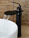 style antique finition bronze huile frotte laiton cascade lavabo robinet