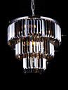 Max40W Montage du flux ,  Contemporain Plaque Fonctionnalite for Cristal Metal Salle de sejour / Chambre a coucher / Salle a manger
