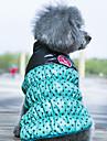 Câini Haine Γιλέκο Îmbrăcăminte Câini Reversibil Keep Warm Buline Galben Rosu Verde