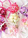 Flori de Nuntă Rotund Trandafiri Corsaj de mână Nuntă Petrecere / Seară Bumbac