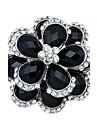 Dame Broșe Strat dublu Diamante Artificiale Bijuterii Pentru Nuntă Petrecere Zilnic Casual
