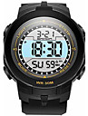 SANDA Copii Ceas Sport Ceas Militar Ceas Smart Ceas La Modă Ceas de Mână Piloane de Menținut Carnea Quartz JaponezLED Cronograf Rezistent