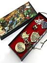 Montre / Badge / Plus d\'accessoires Inspire par The Legend of Zelda Link Anime Accessoires de Cosplay Colliers / Badge / MontreNoir /
