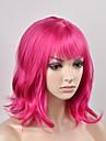 tete de poire de la mode europeenne et des femmes americaines cheveux roux court haute temperature fil perruque