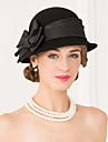Femei Lână Material Textil Diadema-Nuntă Ocazie specială Informal Pălării/Căciuli 1 Bucată