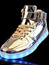 Bărbați Pantofi PU Primăvară Toamnă Confortabili Pantofi Usori Adidași Dantelă Pentru Casual Auriu Argintiu