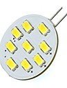 2W G4 LED a Double Broches T 9 SMD 5730 180 lm Blanc Chaud / Blanc Froid DC 12 V 1 piece