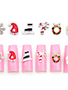 10pcs Manucure De oration strass Perles Maquillage cosmetique Manucure Design