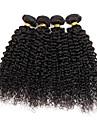 4 paquets extensions de tissus a cheveux boucles et boucles bresiliens 400g pleine tete de 8inch-28inch