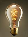 A19 pentagram 220v-240v 40W edison glödlampor traditionella europeiska och amerikanska vintage kaffe glödlampor